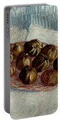 Van Gogh: Apples, 1887 Portable Battery Charger