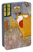 Van Gogh: Bedroom, 1888 Portable Battery Charger