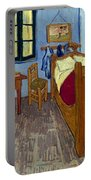 Van Gogh: Bedroom, 1889 Portable Battery Charger