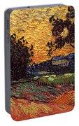 Van Gogh: Castle, 1890 Portable Battery Charger