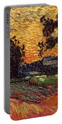 Van Gogh: Castle, 1890 Portable Battery Charger