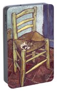 Van Gogh: Chair, 1888-89 Portable Battery Charger