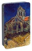 Van Gogh: Church, 1890 Portable Battery Charger