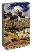 Van Gogh: Cordeville, 1890 Portable Battery Charger