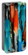 Van Gogh Drips Portable Battery Charger