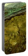 Van Gogh: Field, 1890 Portable Battery Charger