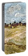 Van Gogh: Fields, 1888 Portable Battery Charger