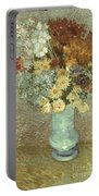 Van Gogh: Flowers, 1887 Portable Battery Charger
