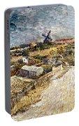 Van Gogh: Gardens, 1887 Portable Battery Charger