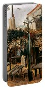 Van Gogh: Guingette, 1886 Portable Battery Charger