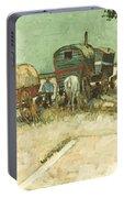 Van Gogh: Gypsies, 1888 Portable Battery Charger