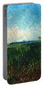Van Gogh: Landscape, 1888 Portable Battery Charger