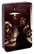 Van Gogh: Meal, 1885 Portable Battery Charger