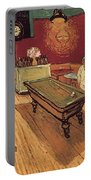 Van Gogh Night Cafe 1888 Portable Battery Charger