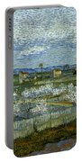 Van Gogh: Peach Tree, 1889 Portable Battery Charger