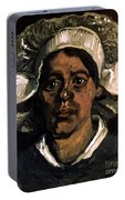 Van Gogh: Peasant, 19th C Portable Battery Charger
