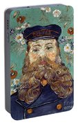 Van Gogh: Postman, 1889 Portable Battery Charger