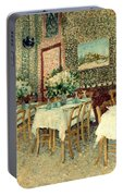 Van Gogh: Restaurant, 1887 Portable Battery Charger