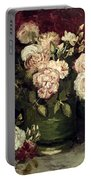 Van Gogh: Roses, 1886 Portable Battery Charger