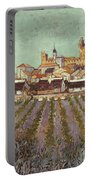Van Gogh: Saintes-maries Portable Battery Charger