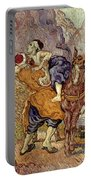 Van Gogh: Samaritan, 1890 Portable Battery Charger