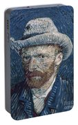 Van Gogh: Self-portrait Portable Battery Charger
