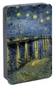 Van Gogh, Starry Night Portable Battery Charger