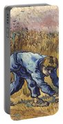 Van Gogh: The Reaper, 1889 Portable Battery Charger