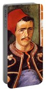 Van Gogh: The Zouave, 1888 Portable Battery Charger