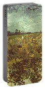Van Gogh: Vineyard, 1888 Portable Battery Charger