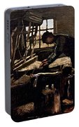 Van Gogh: Weaver, 1884 Portable Battery Charger