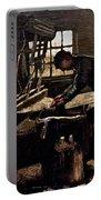 Van Gogh: Weaver, 1884 Portable Battery Charger
