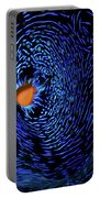 Van Gogh's Clam Portable Battery Charger