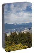 Vancouver Bc Skyline Daytime View Portable Battery Charger