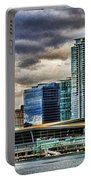 Vancouver Skyline Hdr Portable Battery Charger