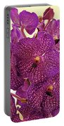 Vanda Orchid Elegance Portable Battery Charger
