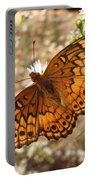 Variegated Fritillary Portable Battery Charger