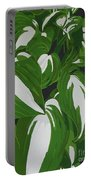 Variegated Hostas Portable Battery Charger