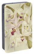 Varieties Of Laelia Anceps Portable Battery Charger