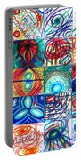 Variety Of Space Galaxies Stars Anomalies. Part 1 Portable Battery Charger