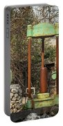 Various Old Rusty Vintage Agricultural Devices In Croatia Portable Battery Charger