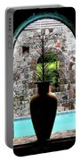 Vase In A Window Portable Battery Charger