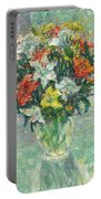Vase Lilies Painting Portable Battery Charger