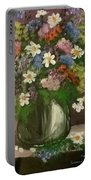 Vase Of Flowers #1 Portable Battery Charger