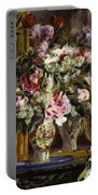 Vase Of Flowers, 1871  Portable Battery Charger