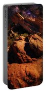 Vasquez Rocks And Stars Portable Battery Charger