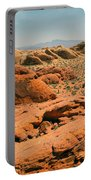 Vast Desert Valley Of Fire Portable Battery Charger