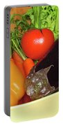 Vegetable Bowl Portable Battery Charger