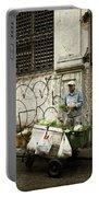 Vegetable Vendor Havana Cuba Portable Battery Charger