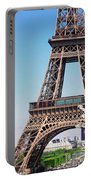 Eiffel Tower And Spring Portable Battery Charger